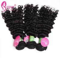 China Eurasian Deep Curly Real Indian Remy Hair Extensions For Black Women on sale