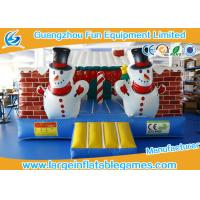 Quality Wholesale Various High Quality Outdoor Inflatable Christmas House for sale