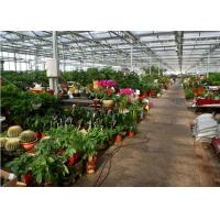Quality Beautiful Appearance Garden Glass Greenhouse Large Ventilated Area Shouguan for sale