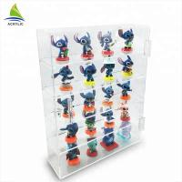 Quality Transparent Acrylic Countertop Display Case Shelf Decoration Toy Display Cabinet for sale