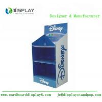 Quality 3 Tiers Cardboard Display Rack , Shop Retail Product Promotional Display Stands for sale