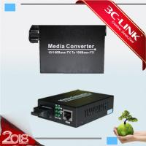 Quality 10/100M WDM Converter RJ-45 Fiber Optic mini Medioa Converter sfp module for sale