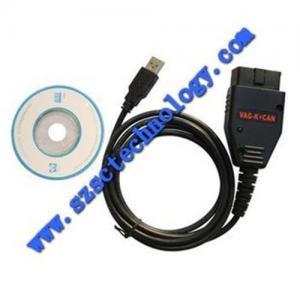 Quality OBD2 SANNER OBD2, EOBD VAG K+CAN Commander Full 1.4 Diagnostic Tools Millage Correction Tool, VAG K for sale