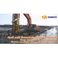 Quality vacuum preloading soft soil improvement, china sunzo soft foundation engineering for sale