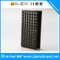 Bulk Wholesale Price Fashion Man Leather Wallet with Custom Logo