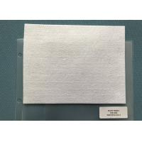 Buy cheap 250gsm Snow White Needle Punched Non Woven Material For Mats from wholesalers
