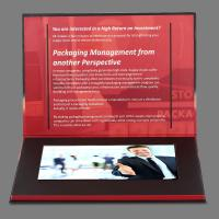 Buy cheap Advertisement 7 inch Lcd Video Brochure Card / Lcd Video Business Cards product