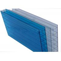 Quality Grade A Triple Wall Polycarbonate Sheet Transparent Panel 8mm-16mm Thickness for sale
