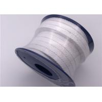 Quality Valve Seal PTFE Injection Ptfe Rope Packing / Ptfe Braided Packing White Color for sale