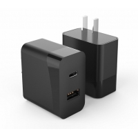 Buy cheap FCC PD20W Double Port Wall Charger 12V1.67A For Mobile Phone from wholesalers