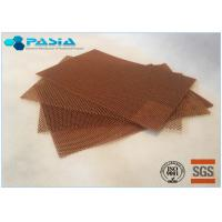 Quality High Temperature Resistance Moisture Proof Aramid Honeycomb Core Sheet For Further Carving for sale