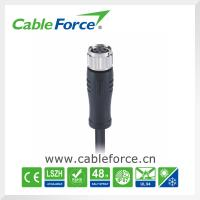 Buy cheap 30V IEC61076-2-104 Female IP67 M8 Cable Connector 6pin For Sensor product