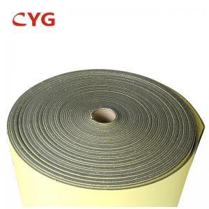 Cross Linked HVAC Insulation Foam Polyethylene Sheet Closed Cell With Aluminium Foil