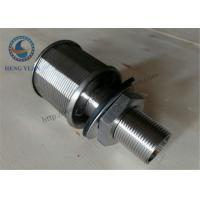 Quality Stainless Steel 316L NPT Threaded Water Filter Nozzle Water Treatment System for sale