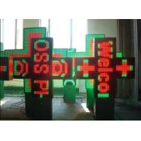 China P25 Dual Color Led Pharmacy Signs with Multi Languages Message Available on sale