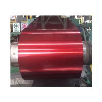 China Coloured 1060 Aluminium Alloy Sheet For Roofing , Orange Painted Aluminum Coil on sale