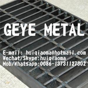 Quality Plain Flat Bar Welded Steel Gratings for Floors, Pedestrain Walkways, Catwalks, Access Grates for sale