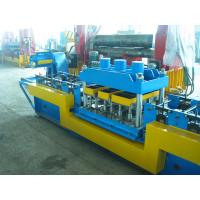 Quality Durable 1.5-2mm Galvanized  Steel Door Frame Cold Roll Forming Equipment ,PLC Control Automatic for sale