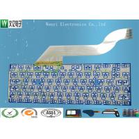 Quality Keyboard Membrane Switch Multilayer Flexible Circuits , 2 Layers Fpc Flex Circuit Board for sale