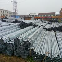 Quality Diameter 12 - 508mm Pre - Galvanized Steel Pipe / Round GI Pipe ASTM A53 Hot Dipped Steel Pipe for sale