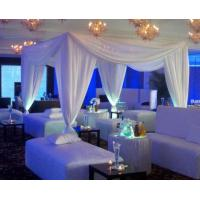 Buy Stage wedding event backdrop poles wedding decorate Pipe And Drape Wedding at wholesale prices