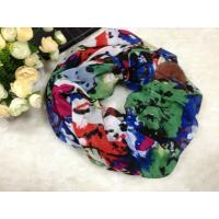 Quality Mixed Color Women Cotton / Voile Scarves Neck Warmers Of Winter for sale
