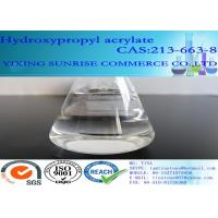 Buy Hydroxypropyl Acrylate Paint Solvent Colorless Clear Liquid CAS 213-663-8 at wholesale prices