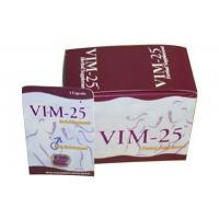 Buy cheap Vim-25 Fast-Acting Natural Male Sex Enhancement Pills With All Herbal For Health from wholesalers