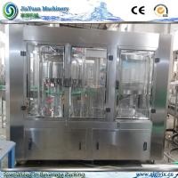 Buy cheap Siemens PLC System Enhanced Small Fruit Juice Filling Machine for Flavoured Beverage Production Line product