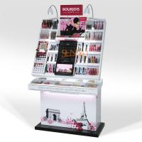 Quality POS Display Stands Retail Cosmetic Makeup Organizer Full Set Custom for sale
