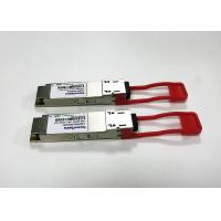 Quality LR4 100G QSFP28 Transceiver FOR DATA CENTER QSFP28 10KM 4CWDM ON SM for sale