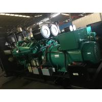 Quality Heavy Fuel Oil 1250kva 1mw Cummins Diesel Generator Set With Automatic Voltage Regulator for sale