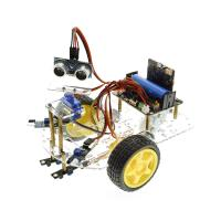 Quality Multi - Function Robot Car Kits Ultrasonic Sensor Assembly With Tutorial for sale