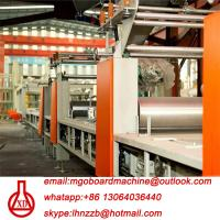 Quality Fully Automatic Fire Resistant Mgo Slab / Magnesium Oxide Board Production Line for sale