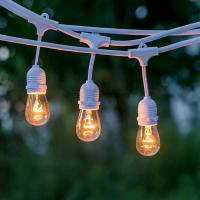 Quality SAA Listed, 10 E27 SUSPENDED SOCKET, OUTDOOR COMMERCIAL WEATHERPROOF STRING LIGHT,10M CORD for sale