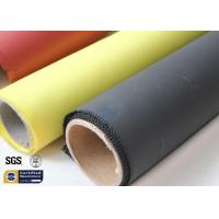 Quality Fiberglass Fabric Acrylic Coated Fire Welding Blanket Cloth Roll 0.45MM 260℃ for sale