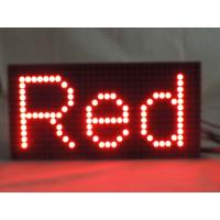 Quality P10 Single White Color Red Outdoor LED Signs For Business , Digital LED Display Board for sale