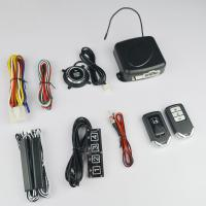 China Car Remote engine start PKE keyless entry car burglar alarm Smart button starter on sale