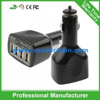 Quality Hot sale 2.1A 4usb ports car charger for iphone for ipad for sale