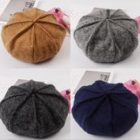 Quality Autumn and winter Korean version of the wild wool Beretti lady retro hair leisure painter hat for sale