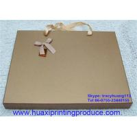 Quality Chocolate Boxes with Handle Rope for sale