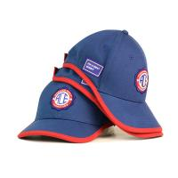 Quality Customizable Blue Embroidered Baseball Caps Sports Caps With Embroidered Patch for sale