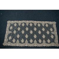 Quality Square embroidery lace table linen for sale
