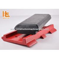 Buy cheap Red / Yellow High Rubber Track Pads For Excavators Long Durability product