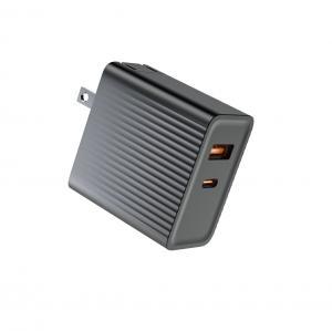 Quality DOE VI 65W Folded Plug GaN Charger OTP US EU CN Plug for sale