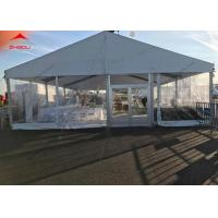 Quality 200 Person Wedding Party Tent With Lining Curtain Aluminum Structure for sale