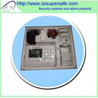 Quality Wireless GSM/PSTN dual network  home alarm system for sale