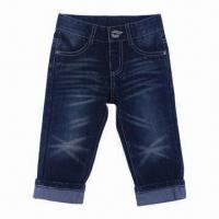 China Boys' Shorts/Kids' Jeans Pants, Suitable for Summer Seasons on sale