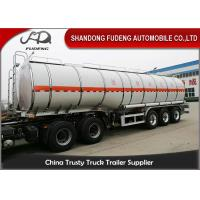 Buy cheap 30000-60000 Liter Fuel Transport Trucks , Petrol Gasoline Edible Oil Tank Semi  Trailer product