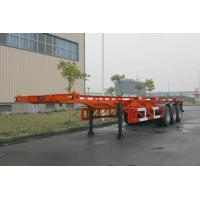 Quality Custom 40ft Skeletal ISO Container Semi Trailer Chassis HZZ9400TJZP for sale